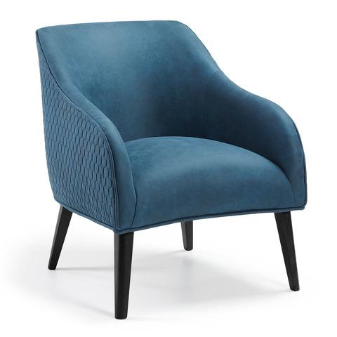 Кресло Lobby синее