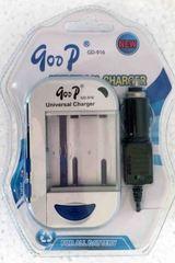 Зарядное ус-во GoDP GD-916 (АА, ААА, Li-ion) /50