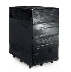 Стрейч-плёнка чёрная, 1,0 кг./500 мм.
