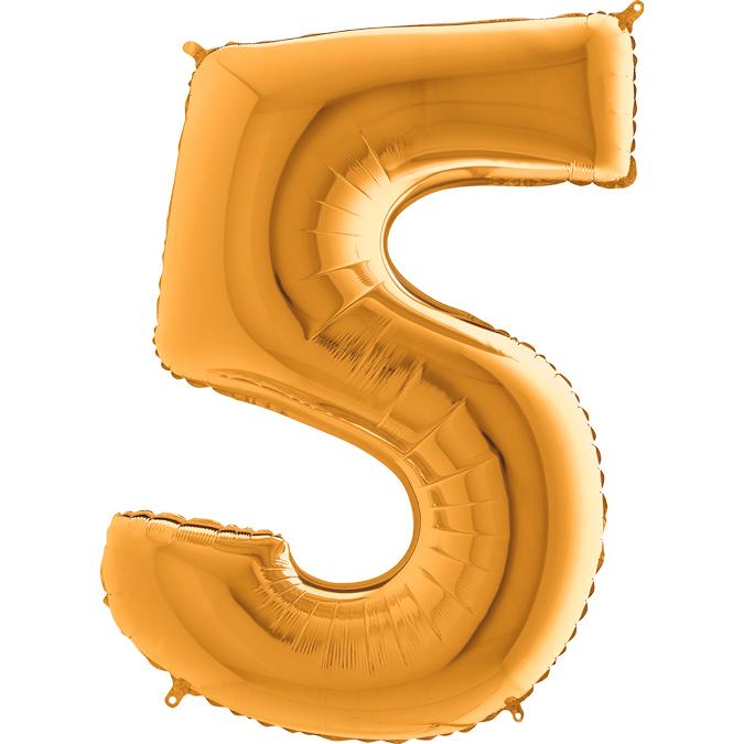 Золотая цифра 5