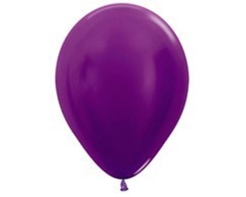 Шарики фиолетовые (металлик)