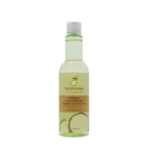 Масло для кожи и волос ЗОЛОТОЙ ВЕТЕР TROPICANA Organic Cold Pressed Virgin Coconut Oil Golden Wind,
