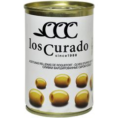 Los Curado Оливки фаршированные сыром Рокфор,  300 г