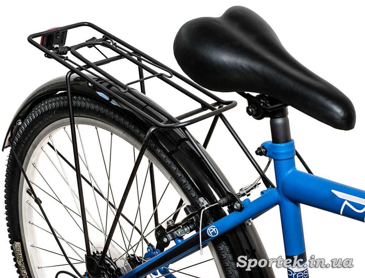 Сидение городского мужского велосипеда Discovery Prestige Man (Дискавери Престиж Мен)