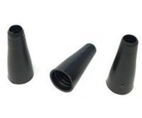 Одноразовые мундштуки ровные с бортом Черные