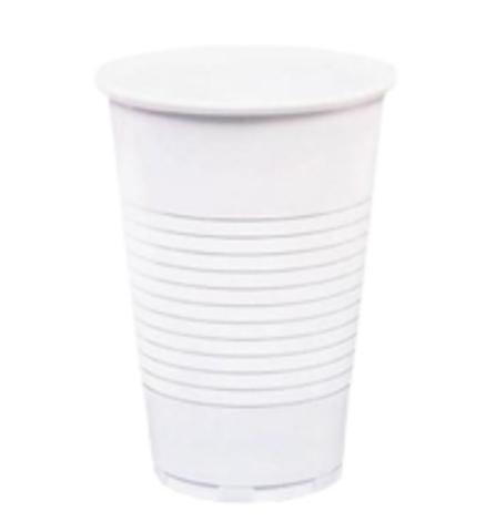 Одноразовый стакан 200 мл пластиковый белый ПП