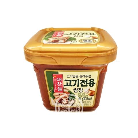 Соевая и смешанная перцовая паста для жаренного мяса 450г CJ Corp Корея
