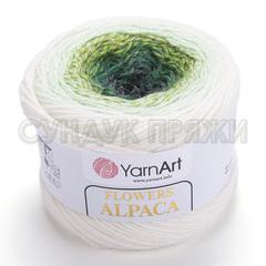 Flowers Alpaca Yarnart 401