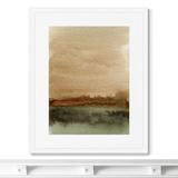 Marina Sturm - Репродукция картины в раме Late autumn landscape