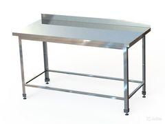 СПБ (по)-10-6 Стол производственный с бортом (1000х600х870 мм.) (обвязка)