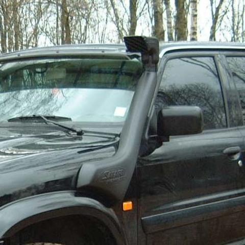 Установка шноркеля на Nissan Patrol Y61
