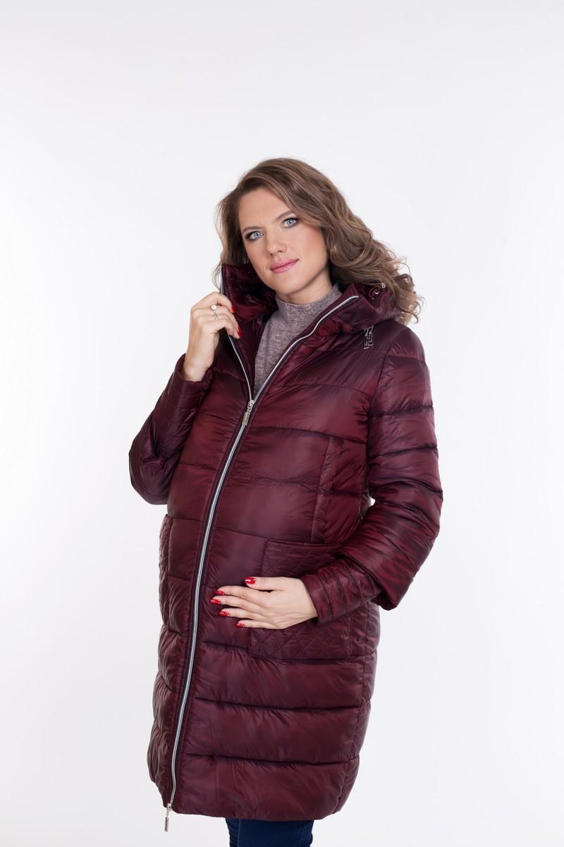 Куртка для беременных 08692 гранатовый