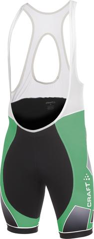 Велокомбинезон Craft Performance мужской черный с зеленым