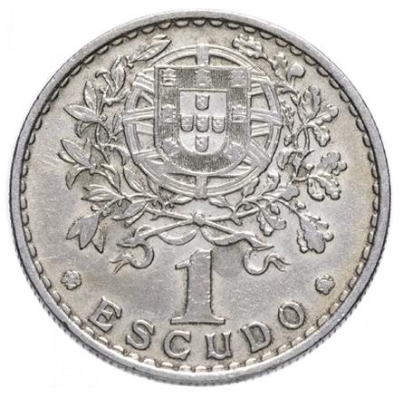 1 эскудо Португальская Республика (1911-1969) 1965 год, Португалия. aUNC