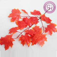 Кленовые листья на ветке, 75 см.