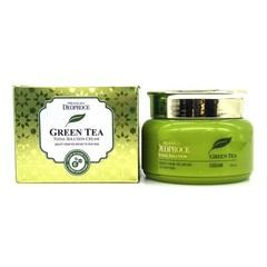 Увлажняющий крем для лица Deoproce с экстрактом зелёного чая 100 мл