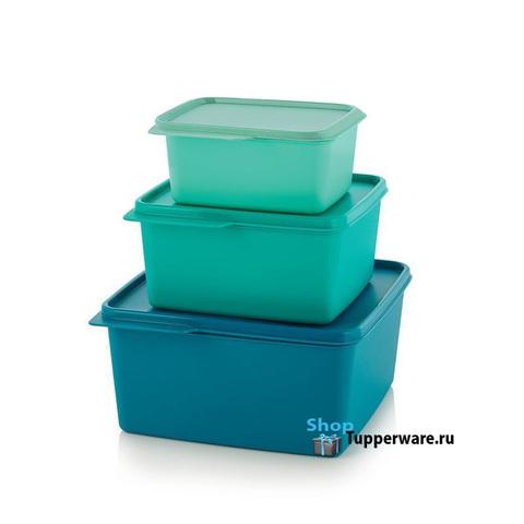 Набор контейнеров Каскад (500мл/1.2л/2.5л) рис.2