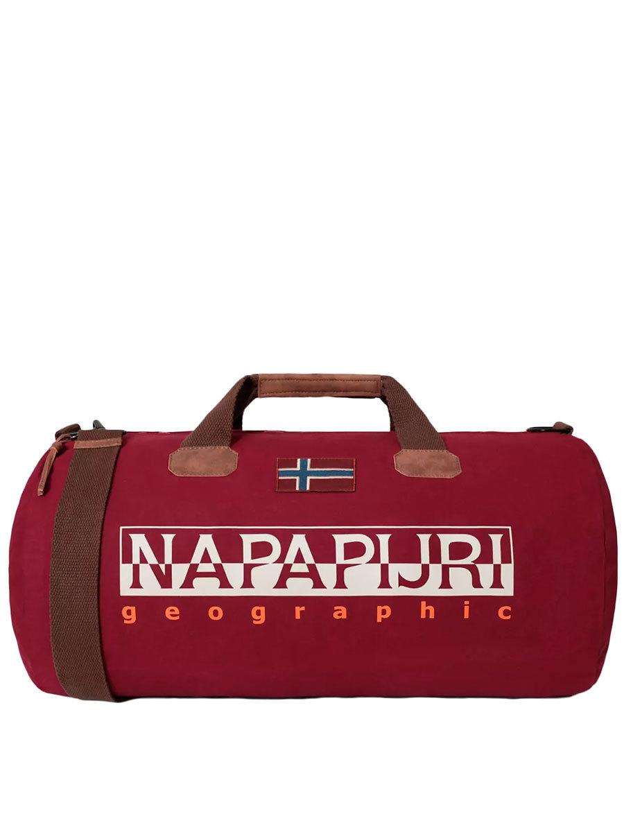 Napapijri сумка Bering 2 бордовый