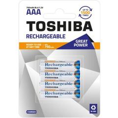 Аккумуляторы Toshiba R03, AAA (750mAh) Ni-MH