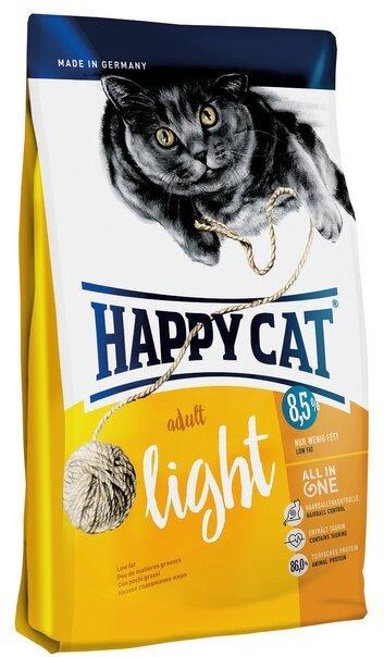 купить Happy Cat Adult Light сухой корм для взрослых кошек с избыточным весом