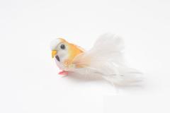 Птичка с пайетками, 8-9 см с хвостом, 1 шт.