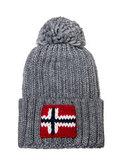 Napapijri шапка Semiury 3 серый меланж