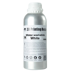 Фотография — Фотополимер Wanhao Water washable, белый (1 л)