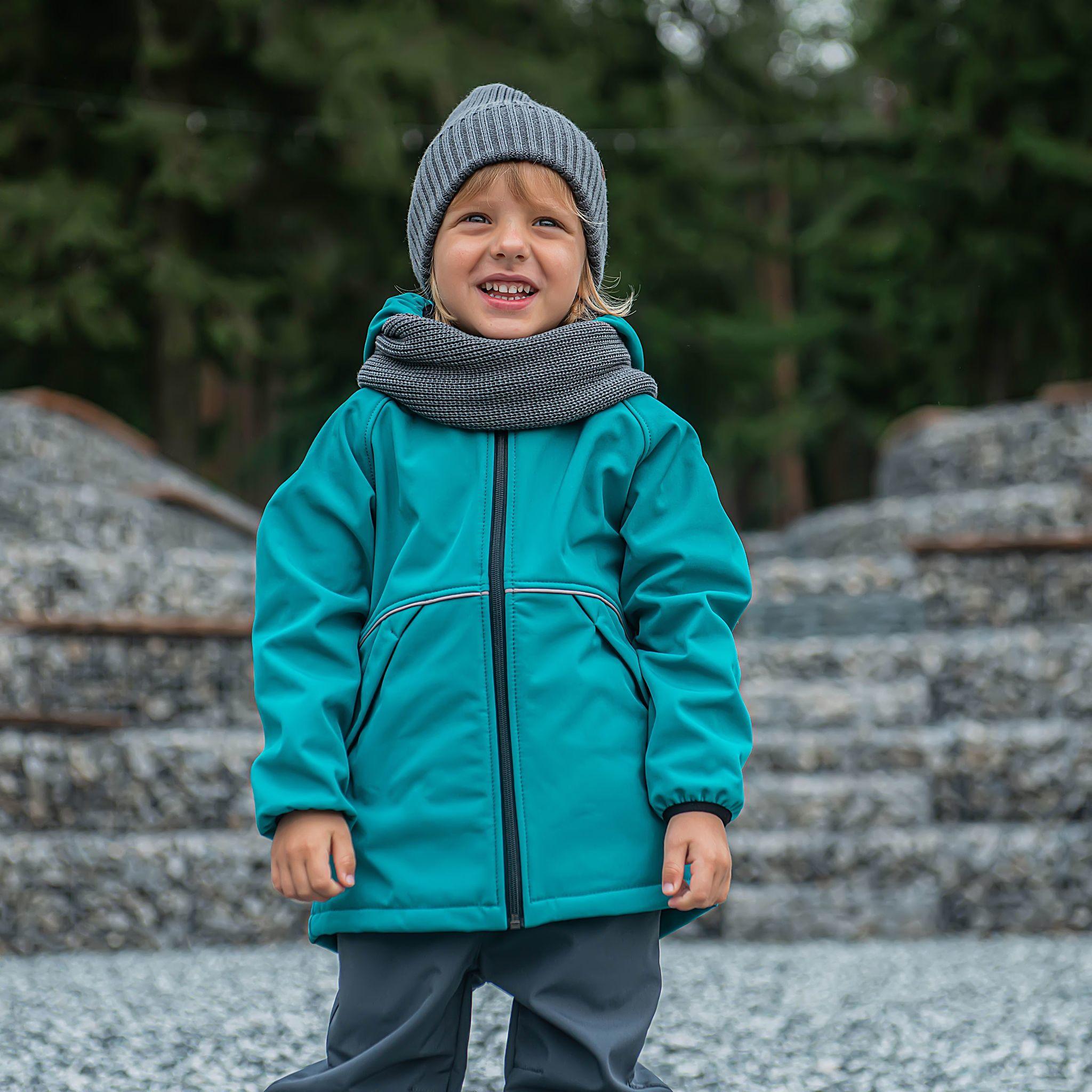 Softshell demi-season jacket - Emerald