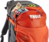 Картинка рюкзак туристический Thule Capstone 22 Тёмно-Серый/Оранжевый - 2