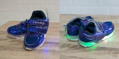 Обувь дет. № 4 Кроссовки КРЫЛЬЯ Светящиеся Фиолетовые