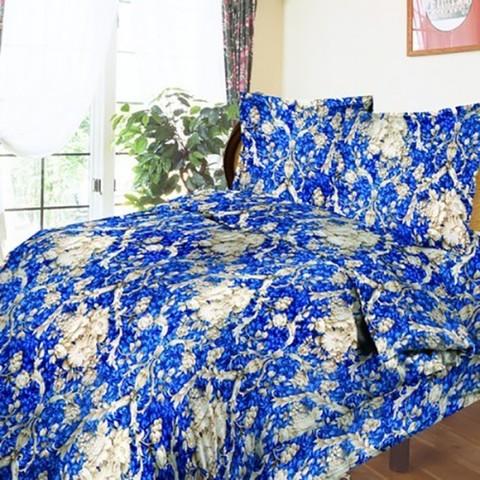 Бязь о/м 100 гр/м2 150 см 112/1 Барокко цвет синий