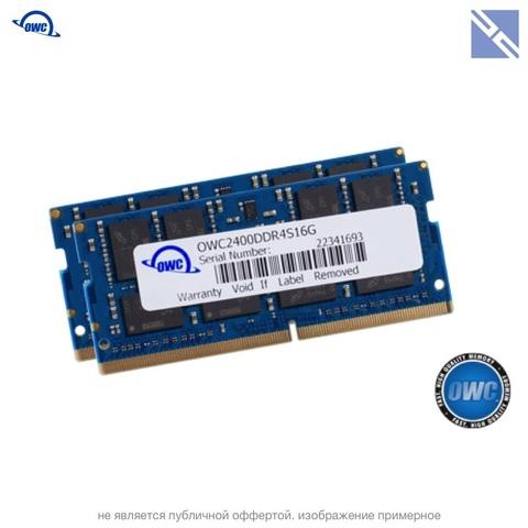 Комплект модулей памяти OWC 32GB для iMac 2017 набор 2x 16GB 2400MHZ DDR4 SO-DIMM PC4-19200 1.2V