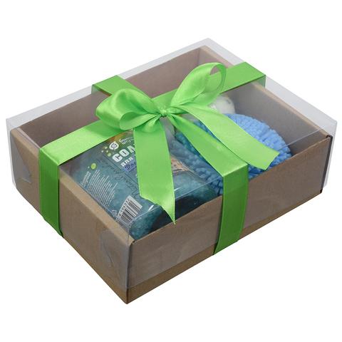 Подарочный Банный набор «Морская бодрость» 4 предмета
