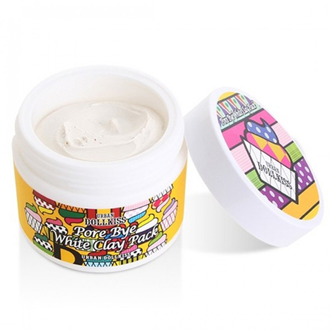 Baviphat Urban Dollkiss Pore Bye White Clay Pack