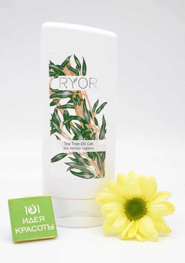 Ryor Гель для интимной гигиены с экстрактом шалфея и чайным маслом , 200мл
