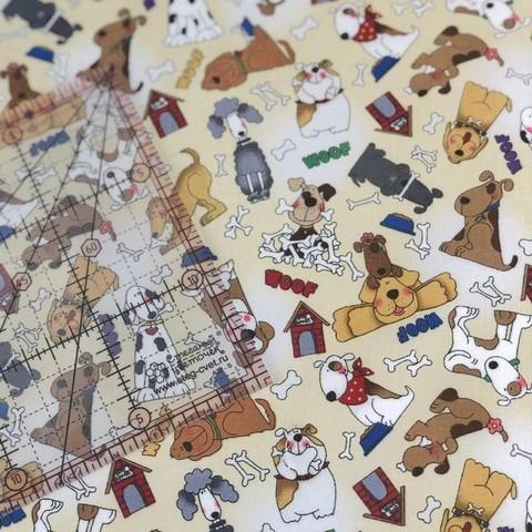 Ткань для пэчворка, хлопок 100% (арт. X0826)