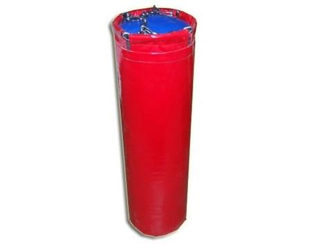 Мешок боксерский цилиндр 20 кг. Наполнитель:  песок, опилки.