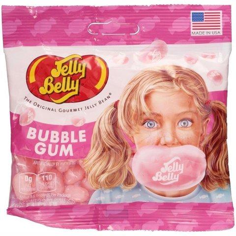 Jelly Belly Bubble Gum Джелли Белли со вкусом жевачки 70 гр