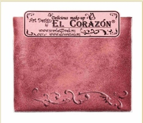 Эль Коразон Перламутр  p-05 бордо красный