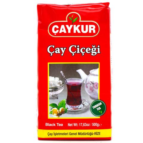 """Турецкий черный чай """"Чайный цветок"""", Çaykur, 500 г"""