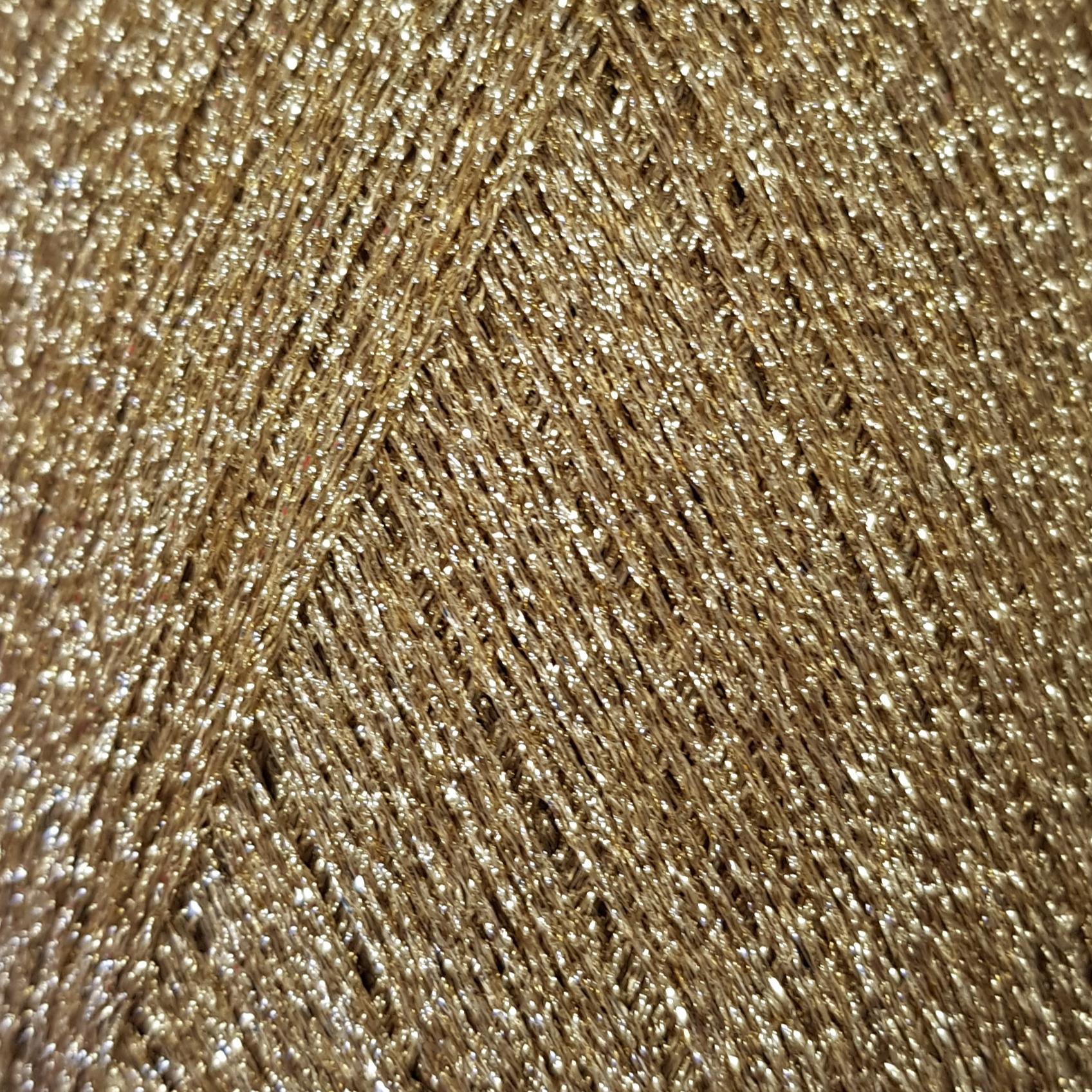 Пряжа Lana Gatto New Glitter 9119 пыльное золото