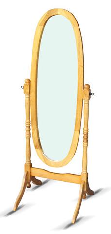 Зеркало напольное 8007 MS овальное дуб