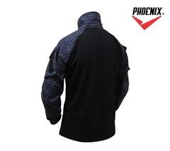 Рубашка Forester Gen 3 (Темно-синяя клетка красной полоской)