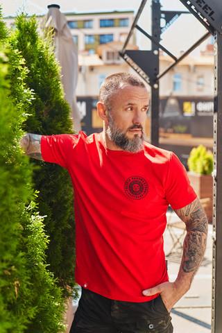 Футболка Варгградъ мужская красная
