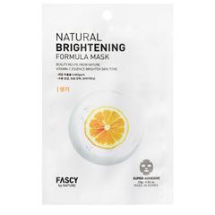 Тканевая маска Fascy для выравнивания тона кожи лица с лимоном 23 гр