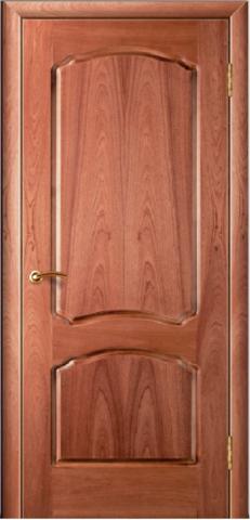 Дверь Валенсия (стекло Сапели) (ясень жемчуг, остекленная шпонированная), фабрика Зодчий