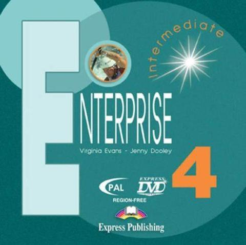 Enterprise 4. DVD Video. PAL. Intermediate. DVD видео