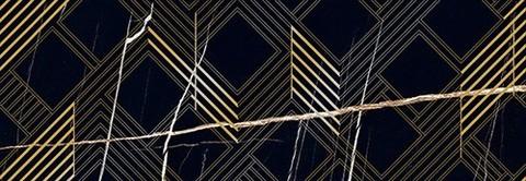 Декор Royal Nero Oro 242х700