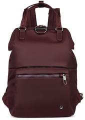 Женский рюкзак антивор Pacsafe Citysafe CX mini, бордовый, 11 л.