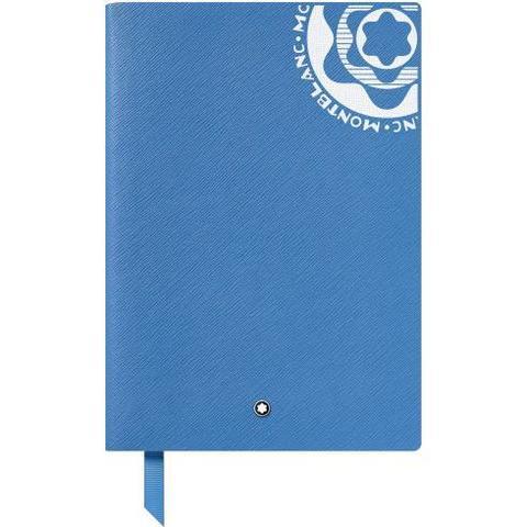 Записная книжка А5, винтаж лого синий.